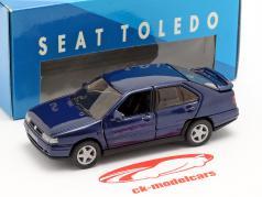 Seat Toledo I année de construction 1991-99 bleu foncé métallique 1:43 Seat