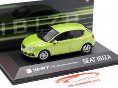 Seat Ibiza IV year 2008-2017 amarillo citrus green metallic 1:43 Seat