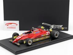 Gilles Villeneuve Ferrari 126C2 #27 Long Beach GP fórmula 1 1982 1:18 GP Replicas