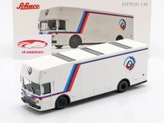Mercedes-Benz O 317 race vrachtwagen BMW Motorsport wit 1:43 Schuco