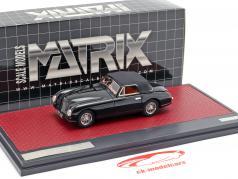 Aston Martin DB2 Vantage DHC Closed Top 1951 zwart 1:43 Matrix