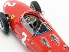 Phil Hill Ferrari 156 Sharknose #2 italiano GP campeão do mundo F1 1961 1:18 CMR
