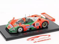 Mazda 787B #55 vincitore 24h LeMans 1991 Weidler, Herbert, Gachot 1:43 Spark