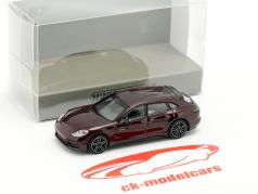 Porsche Panamera Turbo S E-hybrid Sport Turismo 2017 rot metallic 1:87 Minichamps