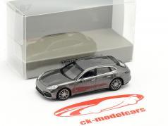 Porsche Panamera Turbo S E-hybrid Sport Turismo 2017 grau metallic 1:87 Minichamps