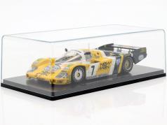 Porsche 956B #7 胜利者 24h LeMans 1984 Pescarolo, Ludwig 1:43 Spark