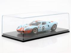 Ford GT 40 Gulf #9 vincitore 24h LeMans 1968 Rodriguez, Bianchi 1:43 Spark