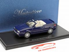 Volkswagen VW Corrado Cabriolet prototype 1993 donkerblauw 1:43 AutoCult