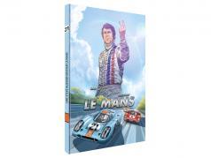 comic: en Steve McQueen aangemaakt LeMans (Duits) / door Sandro Garbo