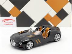 BMW 328 Hommage Spyder jaar 2013 zwart 1:18 Norev