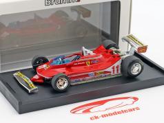 J. Scheckter Ferrari 312T4 #11 winnaar Italiaans GP wereldkampioen F1 1979 1:43 Brumm