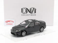 Saab 9-3 Turbo X Limousine Baujahr 2008 tiefschwarz 1:18 DNA Collectibles