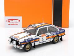 Ford Escort MK II RS1800 #4 segundo Rallye SanRemo 1980 Vatanen, Richards 1:18 Ixo
