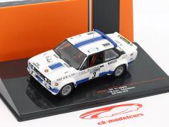 Fiat 131 Abarth #3 8º Lombard RAC Rallye 1979 Röhrl, Geistdörfer 1:43 Ixo