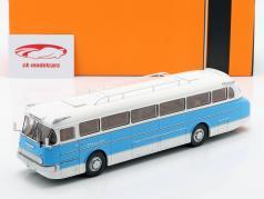 Ikarus 66 autobús año de construcción 1972 azul / blanco 1:43 Ixo