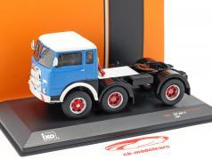 Fiat 690 T1 camion anno di costruzione 1961 blu / bianco 1:43 Ixo