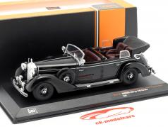 Mercedes-Benz type 770K Cabriolet Bouwjaar 1938 zwart 1:43 Ixo