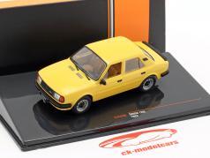 Skoda 120L year 1983 dark yellow 1:43 Ixo