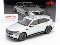 Mercedes-Benz EQC 4matic (N293) year 2019 hightech silver 1:18 NZG