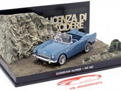 Sunbeam Alpine James Bond Movie Car 007 jagt Dr. No violett 1:43 Ixo