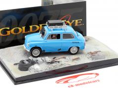 ZAZ-965A blu Goldeneye James Bond Movie Car 1:43 Ixo