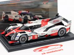 Toyota TS050 Hybrid #9 Toyota Racing 24h LeMans / WEC 2017 1:38 Spark