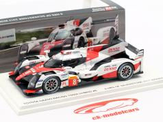 Toyota TS050 Hybrid #8 WEC vincitore 6h Silverstone 2017 Toyota Racing 1:43 Spark
