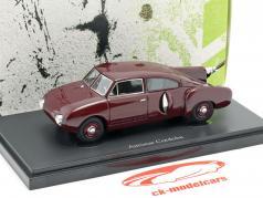Aerocar Cordoba année de construction 1953 sombre rouge 1:43 AutoCult