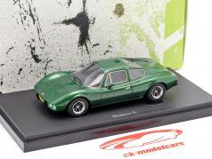 Bianco S Coupe año de construcción 1977 verde metálico 1:43 AutoCult