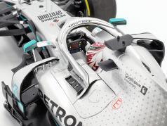 L. Hamilton Mercedes-AMG F1 W10 EQ #44 formule 1 champion du monde 2019 1:18 Minichamps