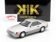 Mercedes-Benz 500 SL (R129) year 1993 silver 1:18 KK-Scale