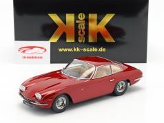 Lamborghini 400 GT 2+2 Baujahr 1965 rosso metallic 1:18 KK-Scale