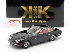 Lamborghini 400 GT 2+2 Baujahr 1965 schwarz 1:18 KK-échelle