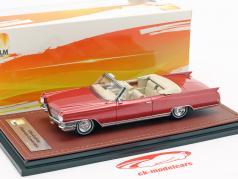 Cadillac Eldorado convertible Open Top année de construction 1964 rouge métallique 1:43 GLM