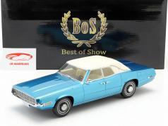 Ford Thunderbird Landaulet bleu / blanc 1:18 BoS-Models / 2. élection