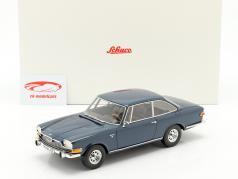 BMW Glas 3000 V8 Bouwjaar 1967-1968 blauw 1:18 Schuco