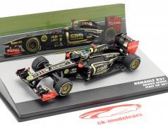 Bruno Senna Lotus Renault R31 #9 italiano GP fórmula 1 2011 1:43 Altaya