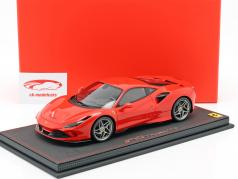 Ferrari F8 Tribute voiture spectacle Genève 2019 scuderia rouge 1:18 BBR
