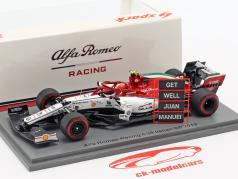 Antonio Giovinazzi Alfa Romeo Racing C38 #99 Italiaanse GP Formule 1 2019 1:43 Spark