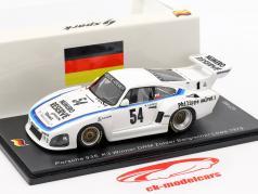 Porsche 935 K3 #54 winnaar DRM Zolder Bergischer Löwe 1979 K. Ludwig 1:43 Spark