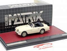 Aston Martin DB2/4 MK II DHC by Tickford Open Top 1955 creme branco 1:43 Matrix