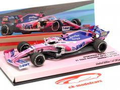Sergio Perez Racing Point RP19 #11 Bahrein GP fórmula 1 2019 1:43 Minichamps