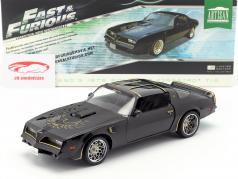 Tego's Pontiac Firebird Trans Am année de construction 1978 film Fast & Furious IV 2009 noir 1:18 Greenlight