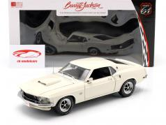 Ford Mustang Boss 429 Bouwjaar 1969 wit 1:18 Greenlight