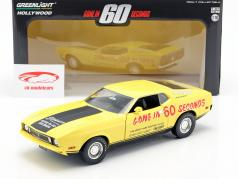 Ford Mustang Mach 1 Eleanor film Gone in 60 Seconds (1974) geel 1:18 Greenlight