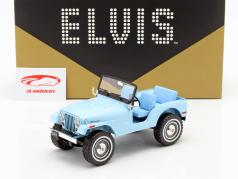 Jeep CJ-5 Elvis Presley 1935-1977 sierra azul 1:18 Greenlight