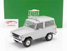 Ford Bronco Bouwjaar 1970 film Speed (1994) licht grijs 1:18 Greenlight