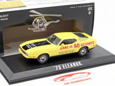 Ford Mustang Mach 1 Eleanor película Gone in 60 Seconds (1974) amarillo 1:43 Greenlight
