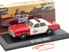 Dodge Monaco Finchburg County Sheriff 1977 rojo / blanco 1:43 Greenlight