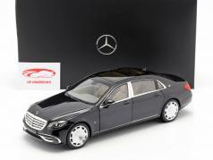 Mercedes-Benz Maybach S650 (X222) magnetita negro 1:18 Norev